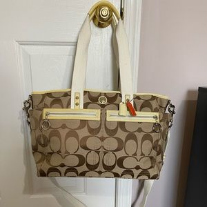 Coach Diaper bag/ large crossbody bag